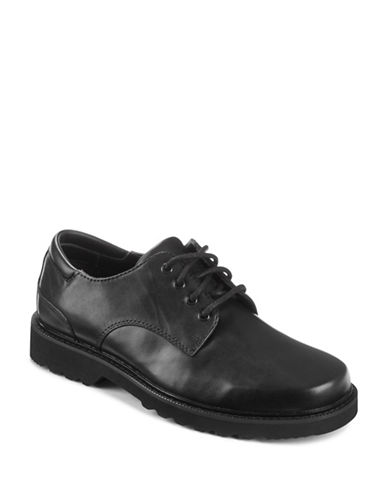 Rockport Casual Oxford Shoes-BLACK-8W