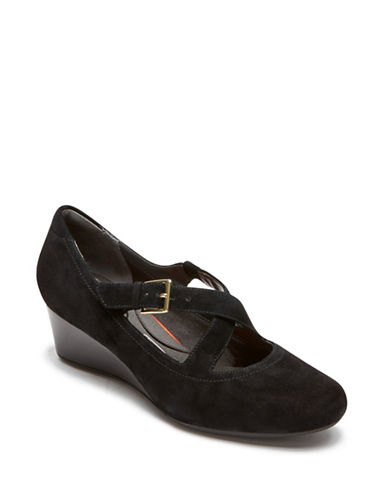Rockport Salima Leather Pumps-BLACK PATENT-5