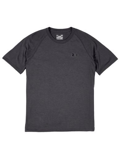 Under Armour Mens UA Tech T Shirt-DARK GREY-Medium 86018833_DARK GREY_Medium