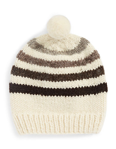 HudsonS Bay Company Hand Knit Wool Tuque-MILLENNIUM-One Size
