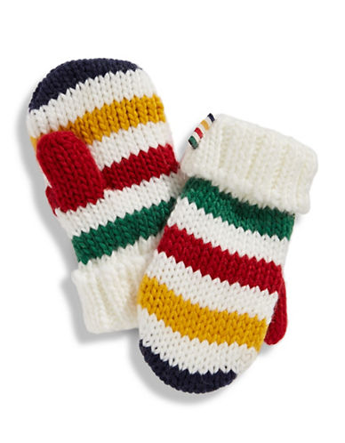 HudsonS Bay Company Baby Mittens-MULTI STRIPE-12-18 Months