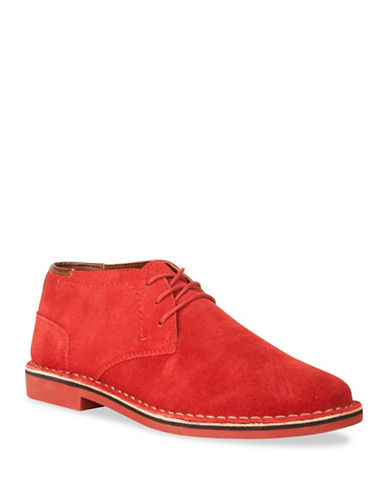 Kenneth Cole Reaction Desert Sun Chukka Boots-RED-8.5