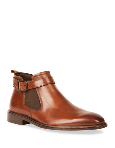 Kenneth Cole New York Sum-Time Leather Chelsea Boots-RED-11