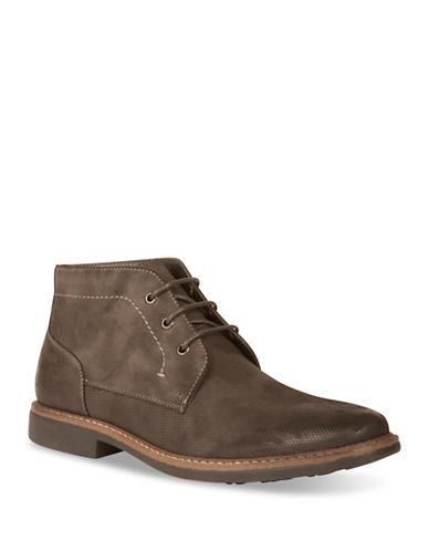 Kenneth Cole New York Chukka Boots-DARK GREY-9.5