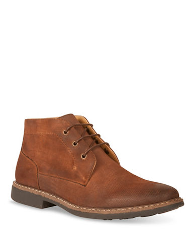 Kenneth Cole New York Chukka Boots-BROWN-10