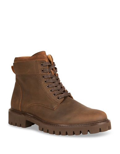Kenneth Cole Reaction Rugged Boots-BROWN-10