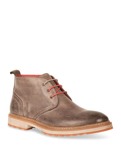 Kenneth Cole New York Leather Chukka Boots-BEIGE-12