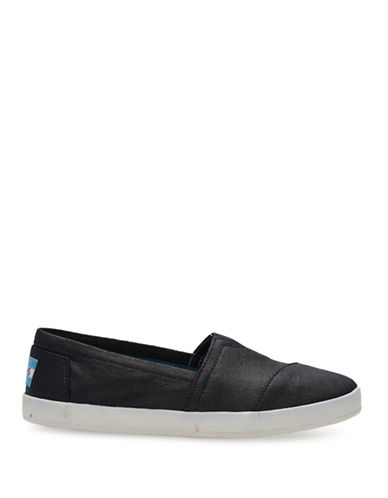 Womens Avalon Canvas Slip On Sneakers by Toms