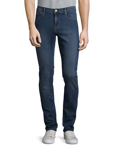 Cheap Monday Tight Mid-Rise Skinny Jean-BLUE-28X34