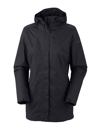 Columbia Splash a Little Rain Jacket-BLACK-Large