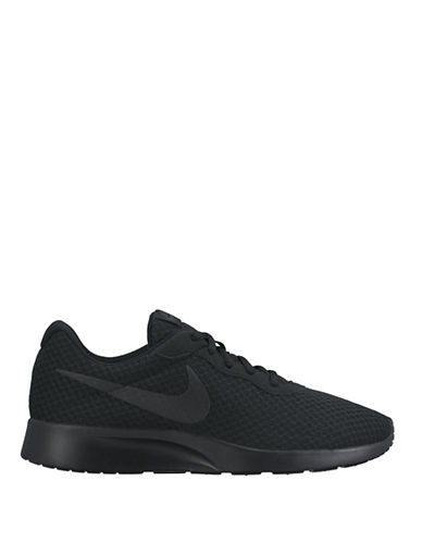 Nike Mens Tanjun Shoes-BLACK-11