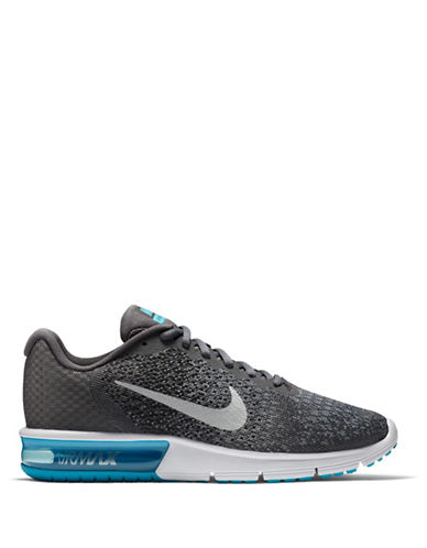 Nike Air Max Sequent 2 Running Shoes-DARK GREY-9.5