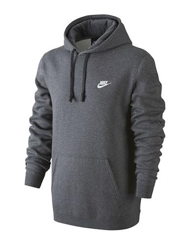 Nike Sportswear Hoodie-CHARCOAL-XX-Large