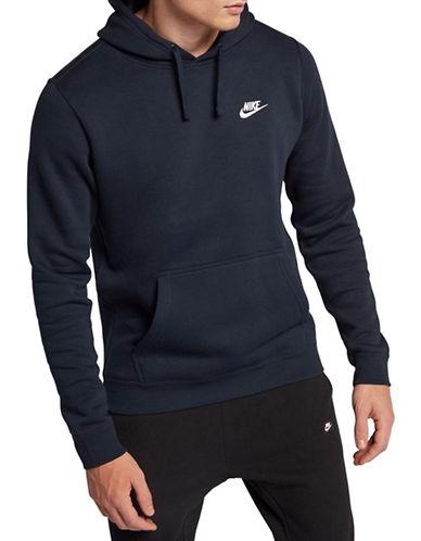 Nike Sportswear Fleece Club Hoodie-BLUE-Medium 89847989_BLUE_Medium