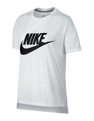 Nike Signal Logo Tee-WHITE-Large 88821823_WHITE_Large