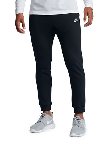 Nike Sportswear Fleece Joggers-BLACK-XX-Large
