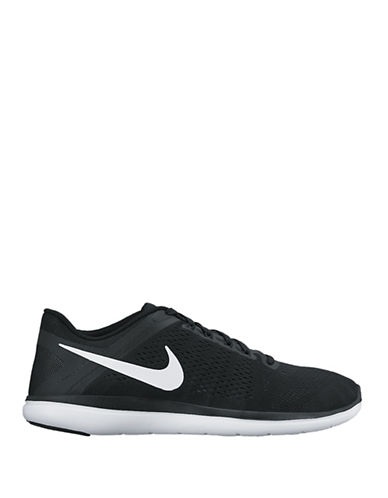 Nike Mens Flex Perforated Flywire Sneakers-BLACK/WHITE-8 88356873_BLACK/WHITE_8