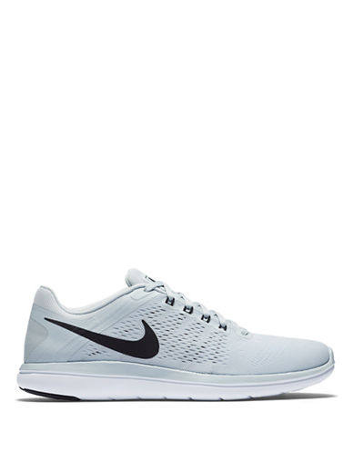 Nike Flex Perforated Flywire Sneakers-BLACK-10 88582832_BLACK_10