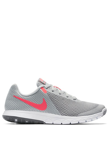 Nike Womens Flex Experience Sneakers-GREY-5