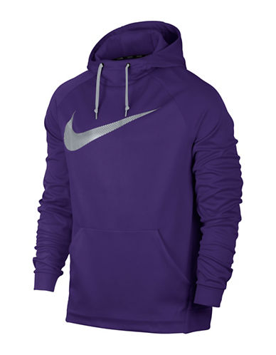 Nike Therma Training Hoodie-PURPLE-Large 89160286_PURPLE_Large