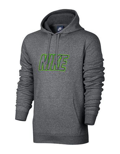 Nike Sportswear Fleece Hoodie-CHARCOAL-Small 88798192_CHARCOAL_Small