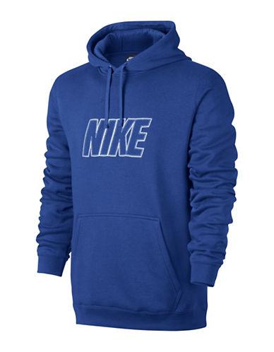 Nike Sportswear Fleece Hoodie-BLUE-Small 88798197_BLUE_Small