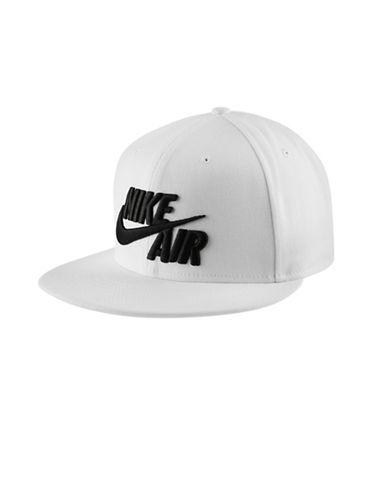Nike Snapback Cap-WHITE-Medium/Large