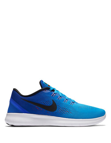 Nike Free Run Knit Sneakers-BLUE-9 88582866_BLUE_9