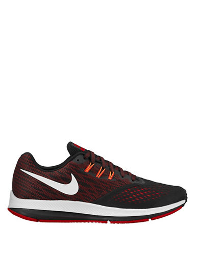 Nike Air Zoom Winflo 4 Running Shoes-BLACK-8