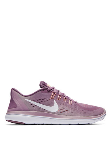 Nike Flex 2017 RN Athletic Sneakers-PURPLE-5.5