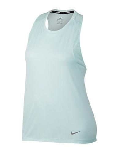 Nike Dry Miler Running Tank Top-BLUE-2X