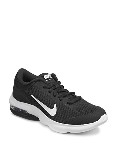 Nike Womens Air Max Advantage Sneakers-BLACK-10