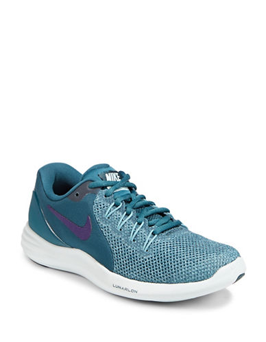 Nike Lunar Apparent Sneakers-SPACE BLUE-9.5
