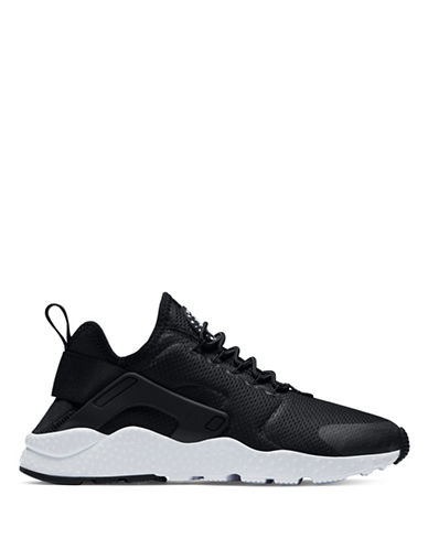 Nike Womens Air Huarache Run Ultra Shoes-BLACK-9.5