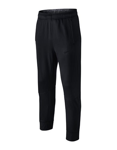 Nike Cotton Blend Thermal Pants-BLACK-Small 88786990_BLACK_Small