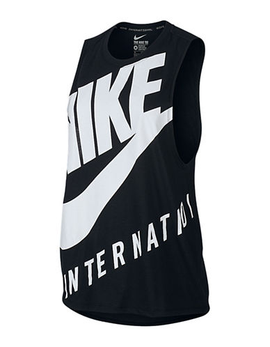 Nike Magnified Logo Muscle Top-BLACK-Small 88784085_BLACK_Small
