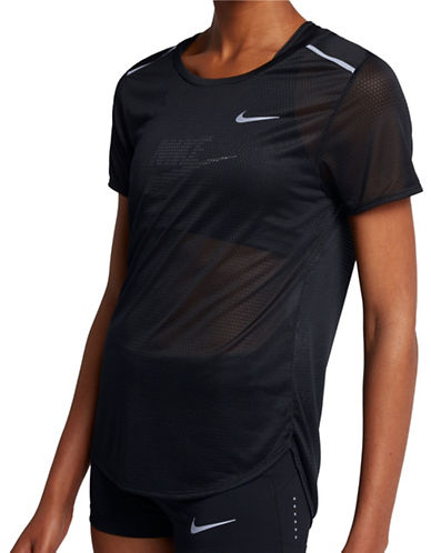 Nike Breathe Running Top-BLACK-Large 89413864_BLACK_Large
