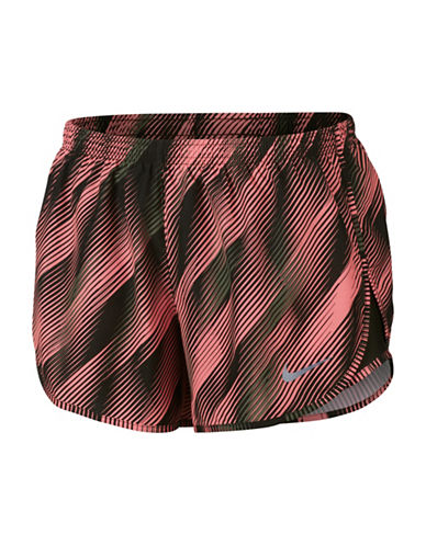 Nike Dri-FIT Mod Tempo Shorts-LAVA-X-Small