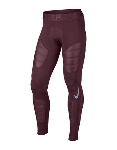 Nike Pro Aeroloft Tights-MAROON-XX-Large