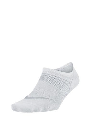 Nike Three-Pack Lightweight Training Socks-WHITE-Medium