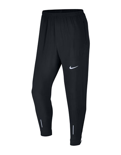 Nike Flex Essential Running Pants-BLACK-Medium
