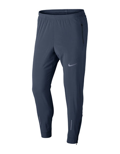 Nike Flex Essential Running Pants-BLUE-Medium