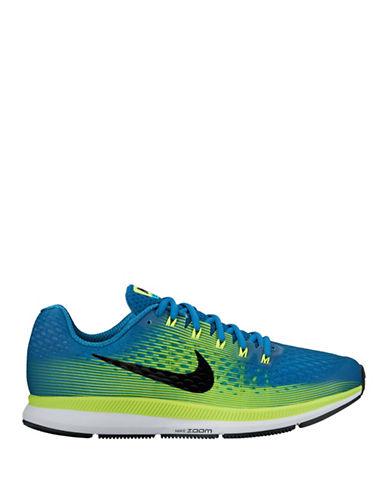 Nike Mens Air Zoom Pegasus Running Shoes-BLUE-9