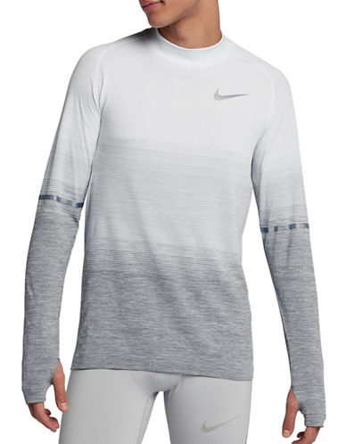 Nike Dri-Fit Running Top-SILVER-XX-Large 89692873_SILVER_XX-Large