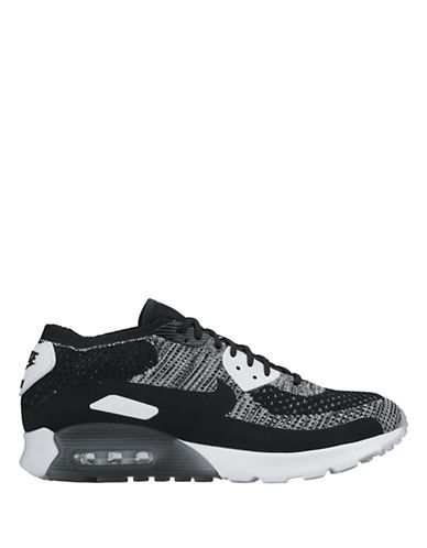 Nike Air Max Ultra Woven Sneakers-BLACK-8.5