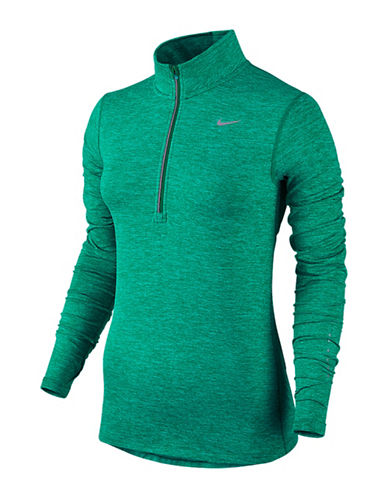 Nike Element Half-Zip Top-GREEN-Large 88619474_GREEN_Large