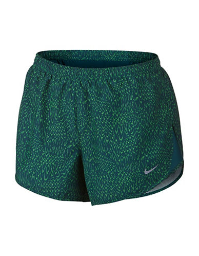 Nike Dri-Fit Printed Tempo Shorts-GREEN-Small 88717071_GREEN_Small