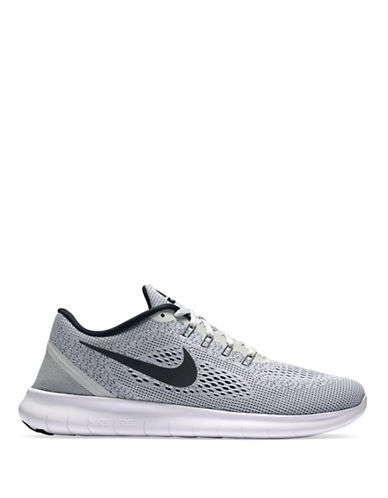 Nike Free Run Knit Sneakers-WHITE-10.5 88929606_WHITE_10.5