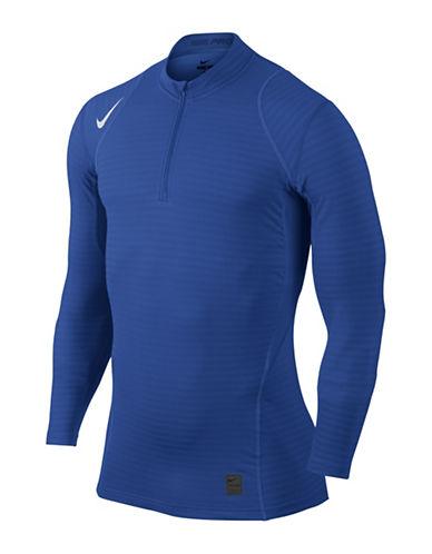 Nike Pro Warm Half-Zip Top-BLUE-Medium 88734568_BLUE_Medium