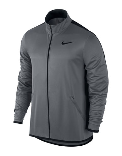 Nike Epic Knit Training Jacket-BLACK-XX-Large
